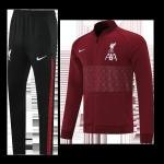 Liverpool Training Kit 2021/22 - Purplish Red (Jacket+Pants)