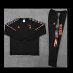 Juventus Sweatshirt Kit 2021/22 - Black (Top+Pants)