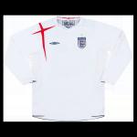 England Home Jersey Retro 2006 - Long Sleeve