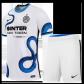 Inter Milan Away Jersey Kit 2021/22 (Jersey+Shorts)