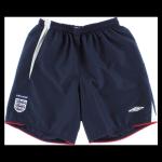 England Retro Soccer Shorts 2006