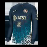 Club America Away Jersey 2021/22 - Long Sleeve