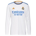Real Madrid Home Jersey 2021/22 - Long Sleeve
