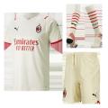 AC Milan Away Jersey Kit 2021/22 (Jersey+Shorts+Socks)