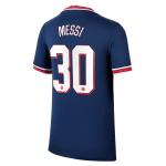 PSG Messi #30 Home Jersey 2021/22- UCL Edition