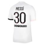 PSG Messi #30 Away Jersey 2021/22