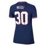 PSG Messi #30 Home Jersey 2021/22 Women - UCL Edition