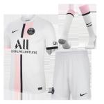 PSG Away Jersey Kit 2021/22 (Jersey+Shorts+Socks)