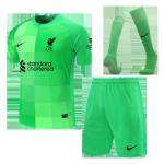 Liverpool Goalkeeper Jersey Kit 2021/22 Kids(Jersey+Shorts+Socks)