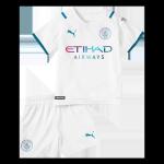 Manchester City Away Jersey Kit 2021/22 Kids(Jersey+Shorts)