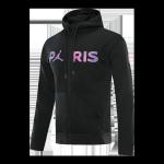 PSG Hoodie Jacket 2021/22 Black