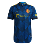 Manchester United Third Away Jersey Authentic 2021/22