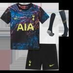 Tottenham Hotspur Away Jersey Kit 2021/22 Kids(Jersey+Shorts+Socks)