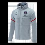 PSG Hoodie Jacket 2021/22 Gray