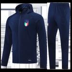 Italy Training Kit 2021/22 - Red&Gray (Jacket+Pants)