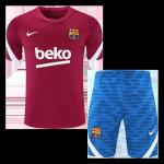 Barcelona Training Jersey Kit 2021/22 (Jersey+Shorts)