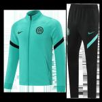 Inter Milan Training Kit 2021/22 - Green (Jacket+Pants)