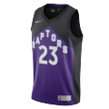 Toronto Raptors Fred VanVleet #23 NBA Jersey Swingman 2021 Nike Black&Purple
