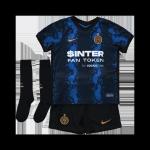 Inter Milan Home Jersey Kit 2021/22 Kids(Jersey+Shorts+Socks)