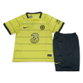 Chelsea Away Jersey Kit 2021/22 Kids(Jersey+Shorts)