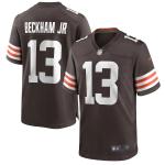 Cleveland Browns BECKHAM JR #13 Nike Brown Player Game Jersey