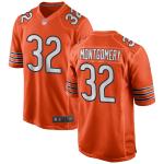 Chicago Bears Bears MONTGOMERY #32 Nike Orange Player Game Jersey