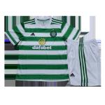 Celtic Home Jersey Kit 2021/22 Kids(Jersey+Shorts)