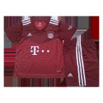 Bayern Munich Home Jersey Kit 2021/22 Kids(Jersey+Shorts)