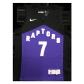 Toronto Raptors Kyle Lowry #7 NBA Jersey Swingman 2021 Nike Black&Purple