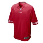 Men's San Francisco 49ers Nike Red Scarlet Vapor Limited Jersey - no number