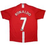 Manchester United RONALDO #7 Home Jersey Retro 2007/08