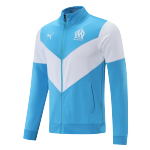 Marseilles Training Jacket 2021/22 White&Blue