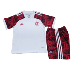 CR Flamengo Away Jersey Kit 2021/22 Kids(Jersey+Shorts)
