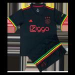 Ajax Third Away Jersey Kit 2021/22 Kids(Jersey+Shorts)
