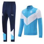 Marseille Training Kit 2021/22 - Blue&White (Jacket+Pants)