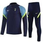 Tottenham Hotspur Sweatshirt Kit 2021/22 - Navy (Top+Pants)