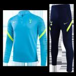 Tottenham Hotspur Sweatshirt Kit 2021/22 - Blue (Top+Pants)