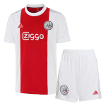 Ajax Home Jersey Kit 2021/22 (Jersey+Shorts)