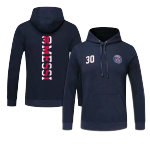 PSG Messi #30 Hoody Sweater 2021/22 - Dark Blue