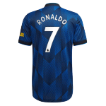 Manchester United RONALDO #7 Third Away Jersey Authentic 2021/22