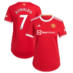 Manchester United RONALDO #7 Home Jersey 2021/22 Women