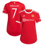 Manchester United RONALDO #7 Home Jersey 2021/22 Women - UCL Edition