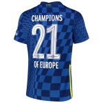 Chelsea Home Jersey 2021/22 - CHAMPIONS OF EUROPE