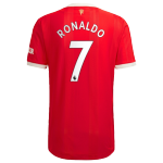 Manchester United RONALDO #7 Home Jersey Authentic 2021/22