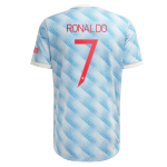 Manchester United RONALDO #7 Away Jersey Authentic 2021/22 - UCL Edition