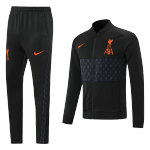 Liverpool Training Kit 2021/22 - Black&Gray (Jacket+Pants)