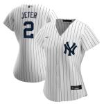 Women's New York Yankees Derek Jeter #2 MLB Jersey 2020