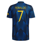 Manchester United RONALDO #7 Third Away Jersey 2021/22 - UCL Edition
