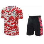 Manchester United Training Jersey Kit 2021/22 (Jersey+Shorts)