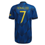 Manchester United RONALDO #7 Third Away Jersey Authentic 2021/22 - UCL Edition